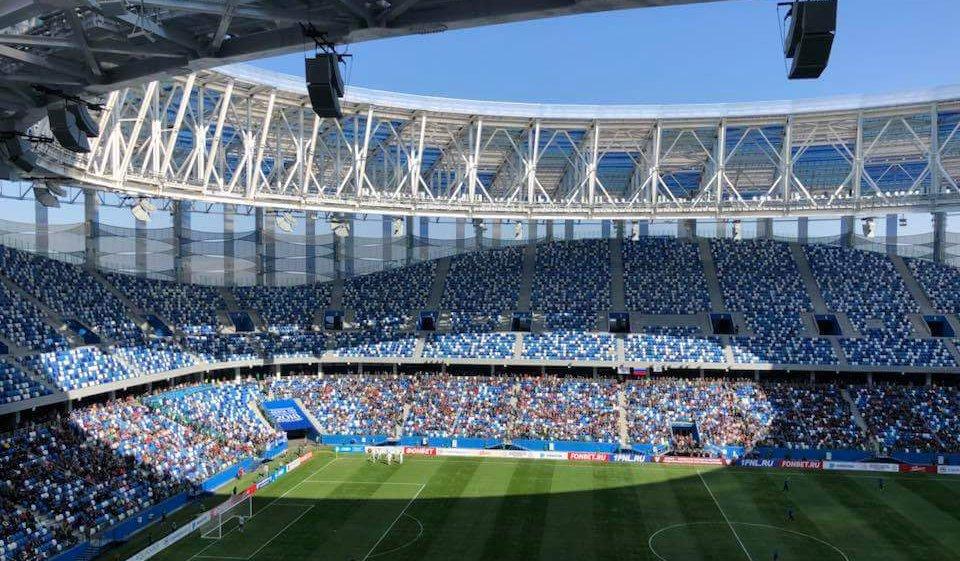Первый тестовый матч состоялся на стадионе «Нижний Новгород» - фото