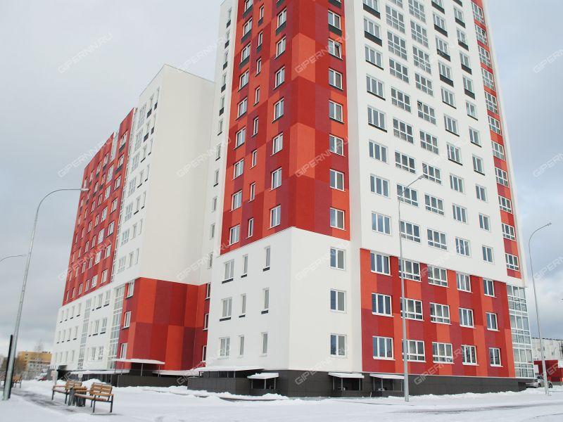 однокомнатная квартира в новостройке на проспекте Гагарина