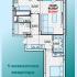 однокомнатная квартира на ул. Александра Хохлова, Многоквартирный дом 1
