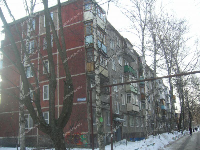комната в доме 10 на улице Энгельса