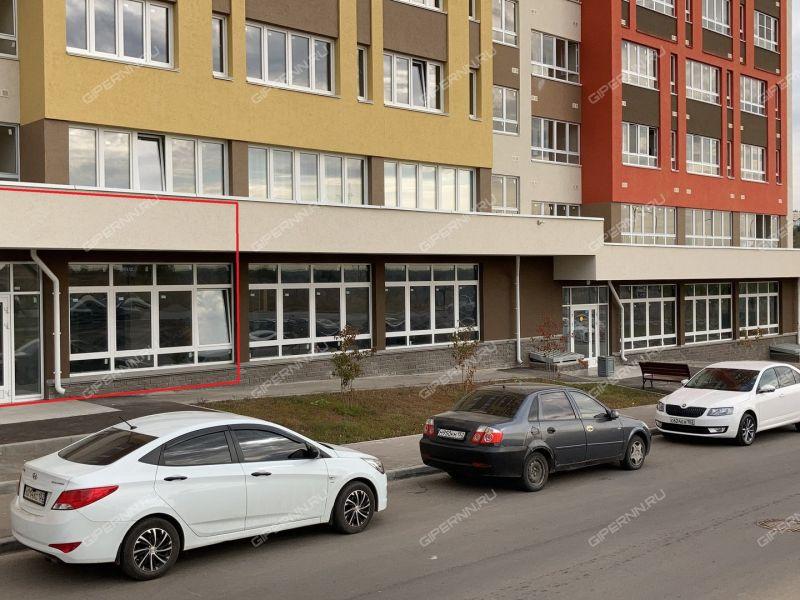 помещение под офис, торговую площадь на улице Романтиков