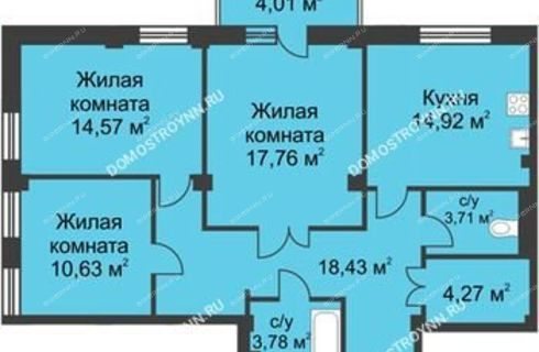3-komnatnaya-ul-proviantskaya-d-6b фото